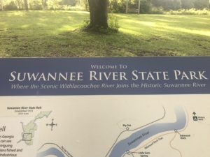 Suwannee River State Park, Live Oak, FL, June 2017