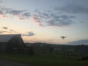 Droning an Amish Farm